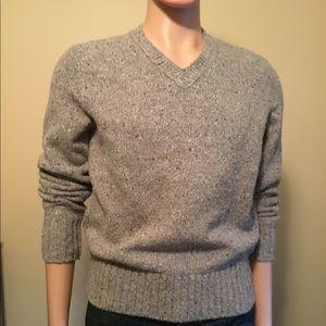 Banana Republic S long sleeve wool blend sweater
